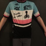 Les maillots de l'école de vélo pour les enfants de Granges Grupetto sont enfin arrivés .