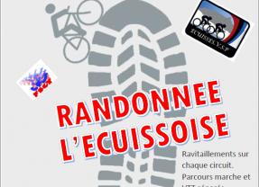 A vos agendas: Randonnée l'Ecuissoise , le dimanche 17 Novembre 2019