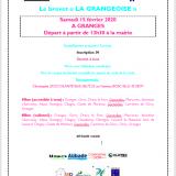 BREVET LA GRANGEOISE LE 15 FÉVRIER 2020