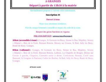 La Grangeoise samedi 2 octobre